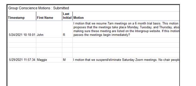 GC Minutes 6-20-21