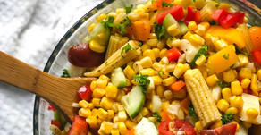 Try This Mexican-Style Corn Salad With an Asian Twist