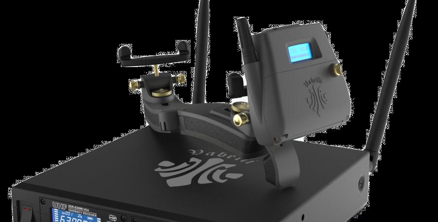 無線電子肩墊+多頻單模組無線接收器+Plus MP3錄放器