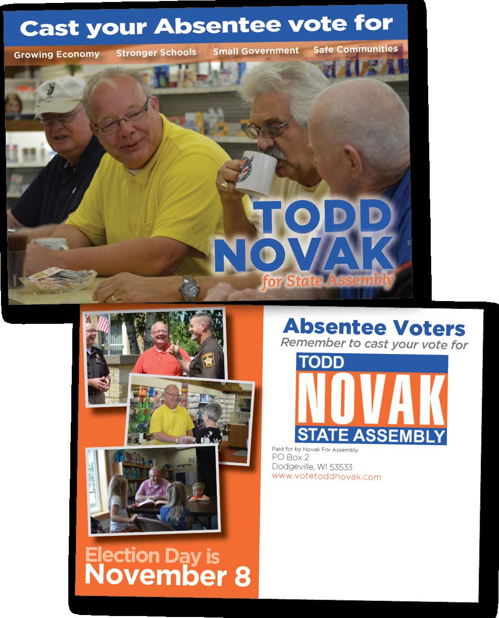 Novak absentee