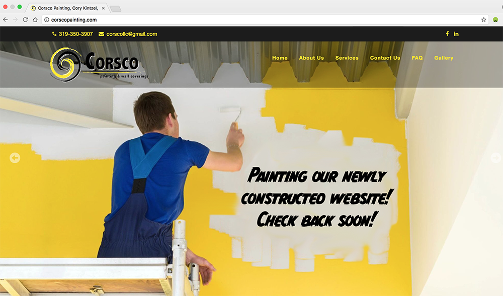 Corsco_Website