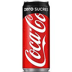 Coca-Cola zéro sucre 33 cl