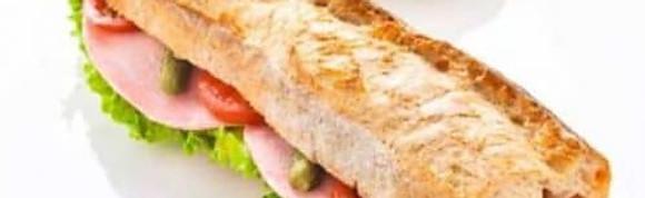 Sandwichs crudités