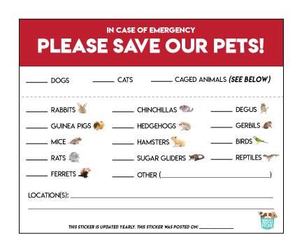 Happy National Pet Preparedness Month!