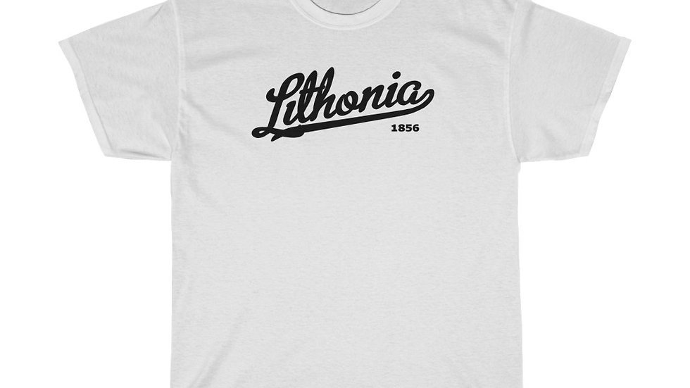 Lithonia 1856 Unisex Heavy Cotton Tee