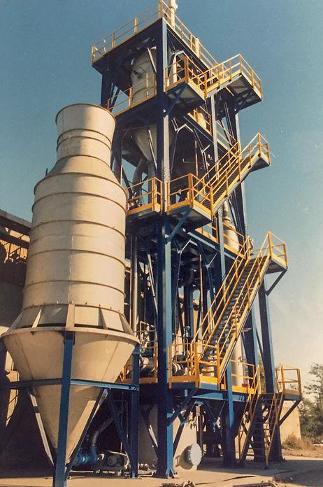 Impianto di cristallizzazione