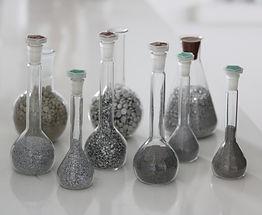 Miscele e granuli di alluminio