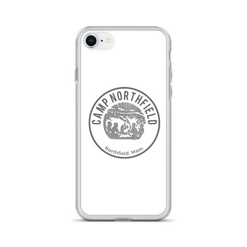 White Vintage iPhone Case