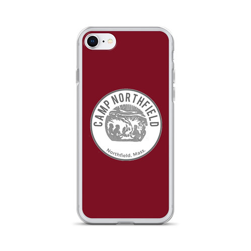 Red Vintage iPhone Case