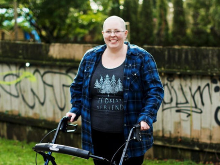 Meet A Crip Doula: Tired Of Lip Service, Heather McCain Takes Accessibility Into Their Own Hands