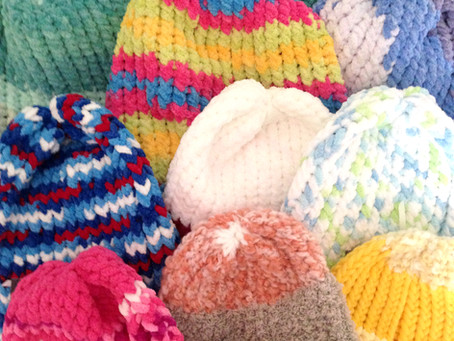 Hailey's Toques: Keeping Communities Warm, One Toque At A Time!