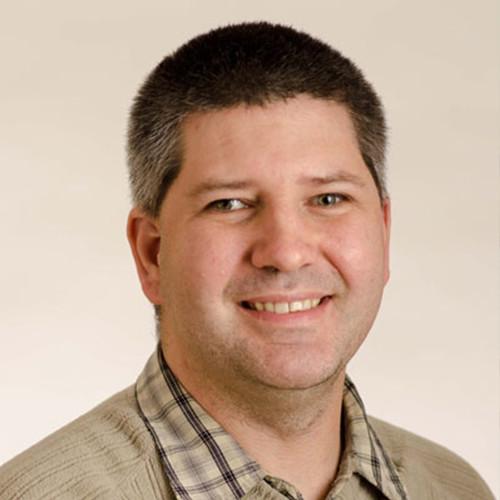 Michael McLellan smiling