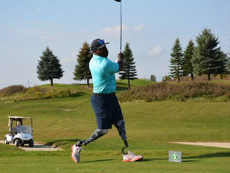 Golf's Healing Powers For Disabled Persons