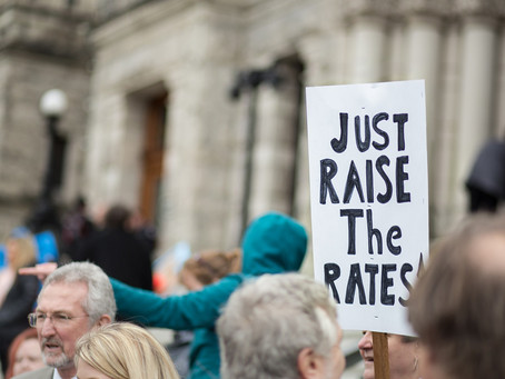 Event Preview: Legislature Press Conference and Online Rally to Raise the Rates!