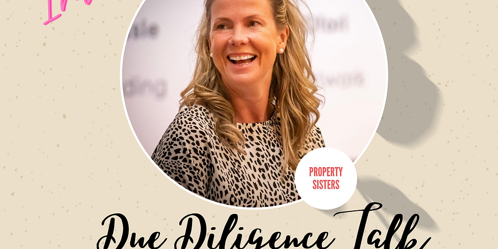 Due Diligence Talk on the monthly Property Sisters Brunch