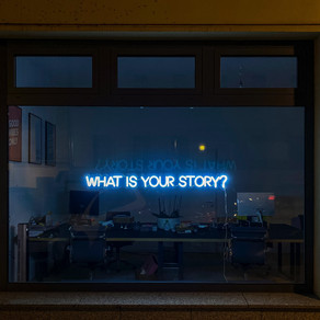How do you feel when someone says to you, 'What's your story?'