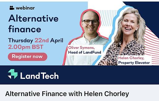 Helen Chorley in Alternative Finance Web