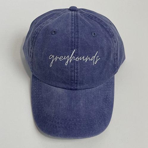 Greyhounds Baseball Cap - Purple/White
