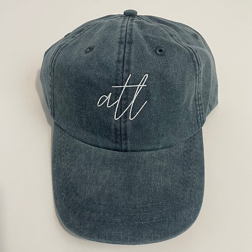 ATL Baseball Cap - Navy/White