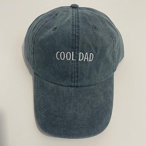 Cool Dad Baseball Cap - Navy/White
