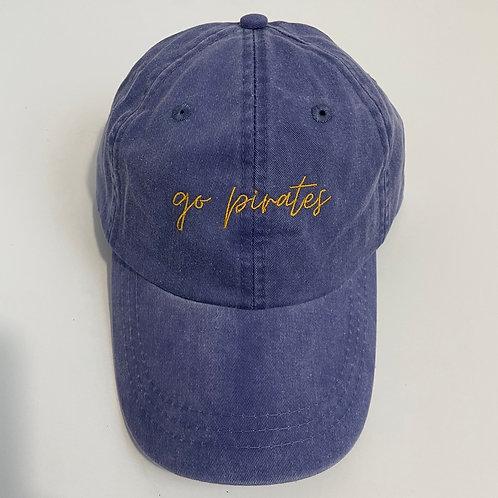 Go Pirates Baseball Cap - Purple/Gold