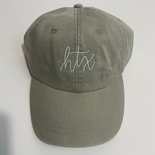 HTX Baseball Cap - Stone/White