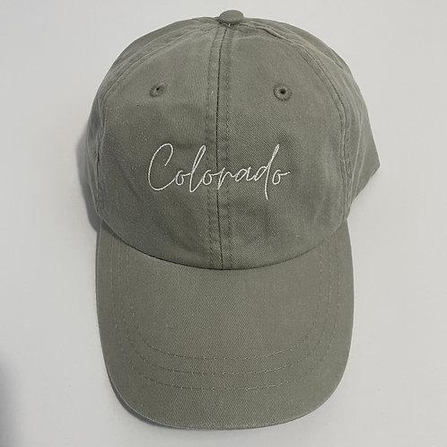 Colorado Baseball Cap - Stone/White