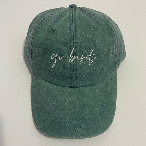 Go Birds Baseball Cap - Forest/White