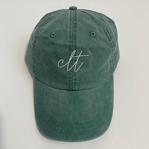 CLT Baseball Cap - Forest/White