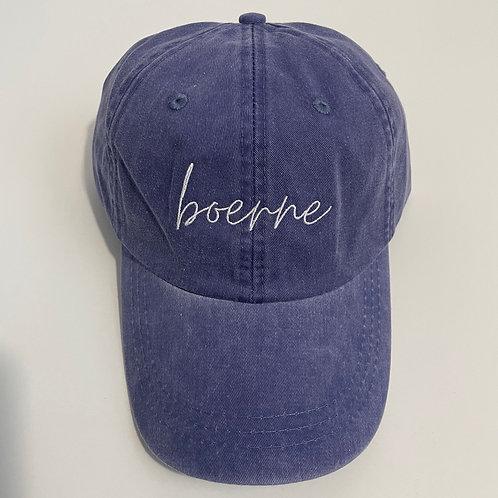 Boerne Baseball Cap - Purple/White