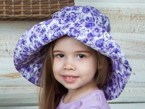 """Шляпа  для девочки """"широкие поля"""""""