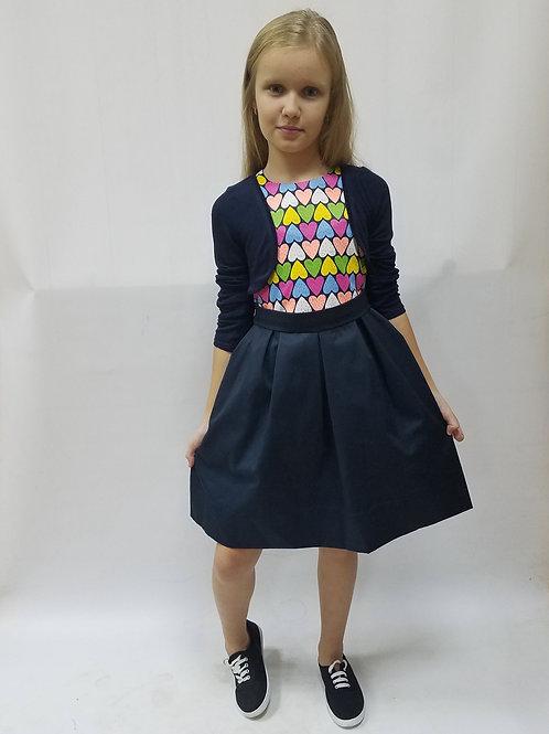 Платье + Болеро. артикул: ПС 116