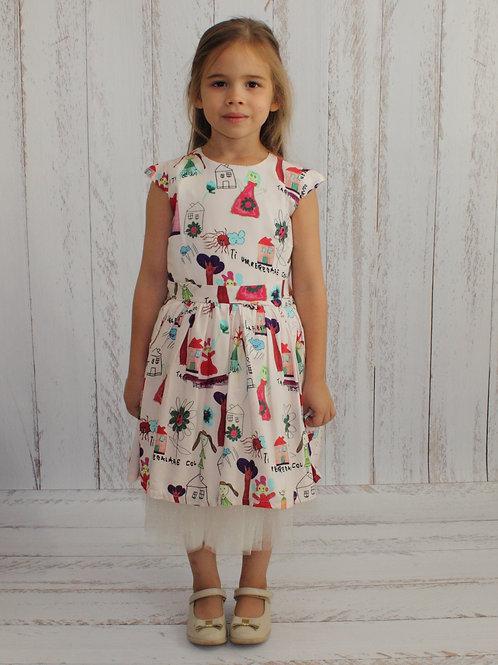 Платье праздничное артикул: ХС104