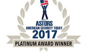ASTOR awar 2017, Best Homeland Security Education Program