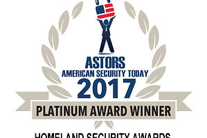 ASTOR award 2017, best homeland security education progra