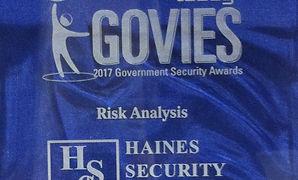 risk analysis, award 2017