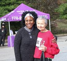 "Dr. Orjioke awards ""Walkers"" second finisher  Covenant Pulmonary Critical Care Inaugural Breathe Easy 5K Run & Walk  Saturday - November 16, 2019  Photo: VISDECO"