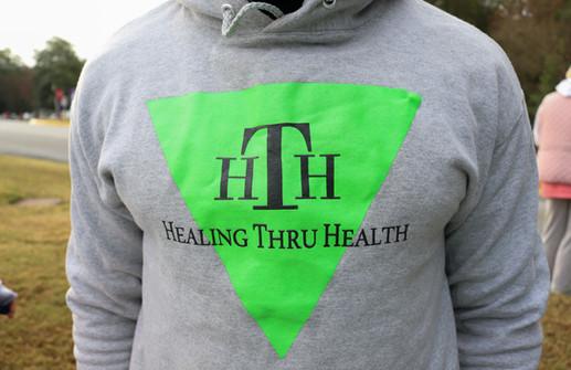 Personal trainer Lance Dossie with Healing Thru Health  Covenant Pulmonary Critical Care Inaugural Breathe Easy 5K Run & Walk  Saturday - November 16, 2019  Photo: VISDECO
