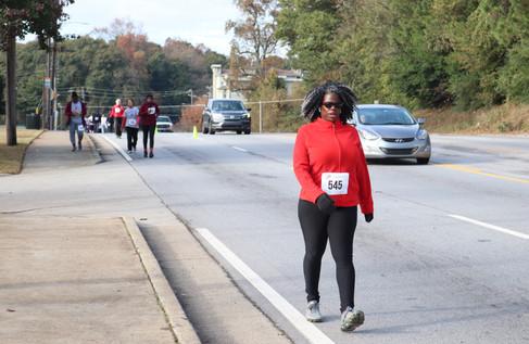 Participants heading down Cleveland Avenue  Covenant Pulmonary Critical Care Inaugural Breathe Easy 5K Run & Walk  Saturday - November 16, 2019  Photo: VISDECO