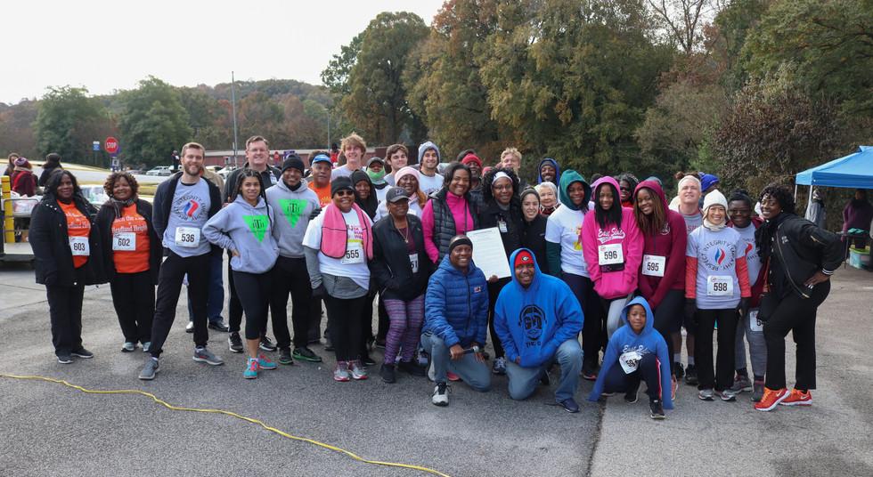 Covenant Pulmonary Critical Care Inaugural Breathe Easy 5K Run & Walk  Saturday - November 16, 2019  Photo: VISDECO