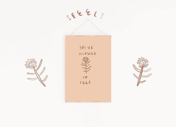 'FEEL' PRINT