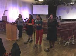 DOE Praise and worship team 2