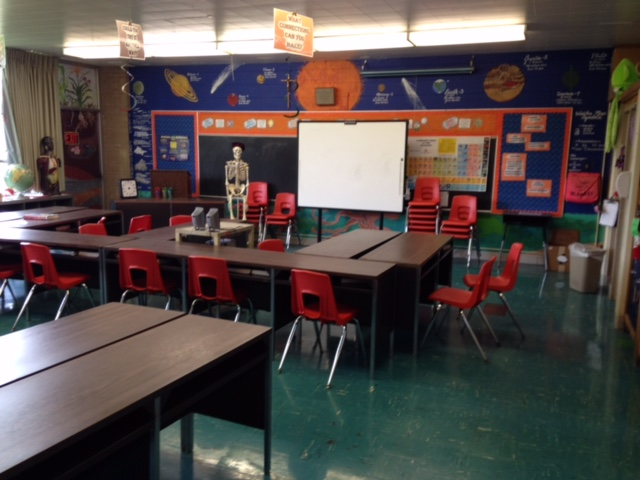 Classroom at SCL School