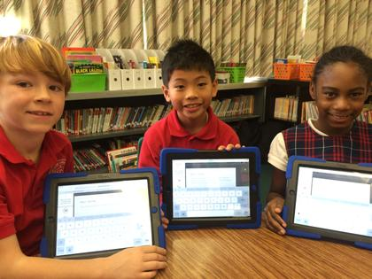 iPads at St. Catherine Labouré