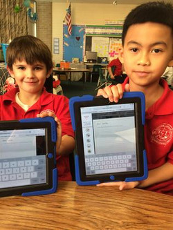 iPads at SCL School Glenview