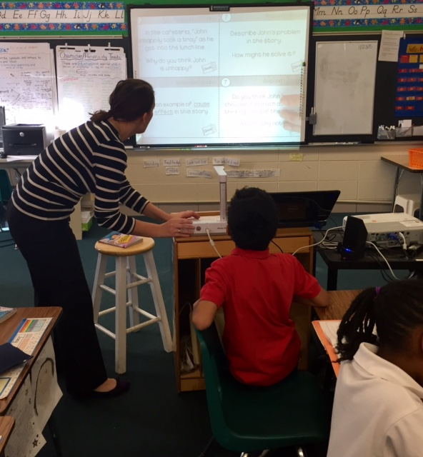 Document camera at SCL School