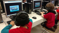 Computer lab at SCL School Glenview