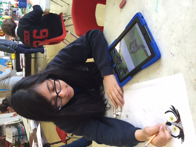 iPad at St. Catherine Labouré School