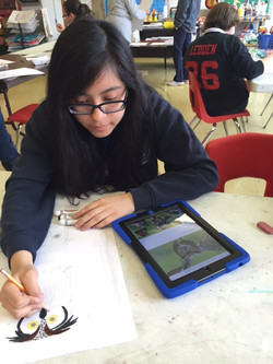 iPad at St. Catherine Labouré School