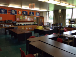 Renovated science lab at SCL School